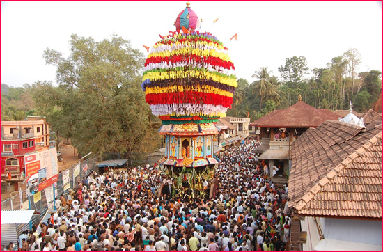 Image result for kollur mookambika temple images